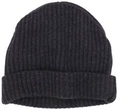 Amazon.com: Williams Cashmere Men's 100% Cashmere Solid Knit Hat, Charcoal, One Size: Clothing