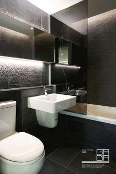 화장실 수납거울
