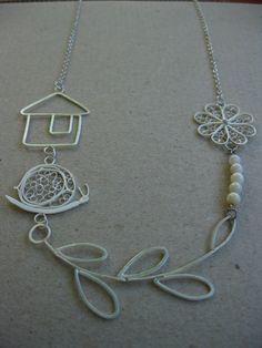 Necklace by Aleksandra Ivanova