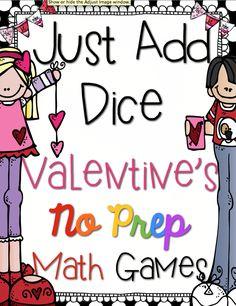 ~No Prep~ Dice Game Love!