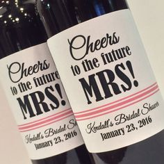 We could also (or instead of baskets) get regular sized bottles of wine with custom labels as prizes for the games.