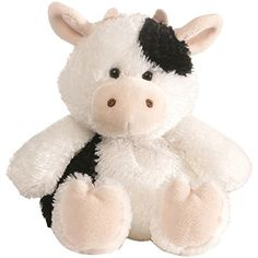 The Mini Chub Cow Stuffed Animal by Gund is carrying a little extra, adorable baggage! This plump plush cow is nine inches tall and five inches wide. V Cute, Cute Stuffed Animals, Cute Teddy Bears, Cute Plush, Indian Baby, Plushies, Animals And Pets, Baby Gifts, Stuffed Toys