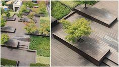 roof terrace design / Z T STUDIO