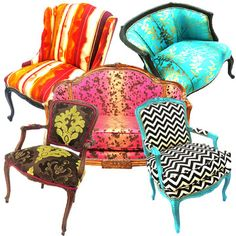 The Divine Chair  Seating Refurbished With Sass