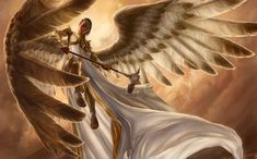 Fantasy Angel Warrior  Wallpaper