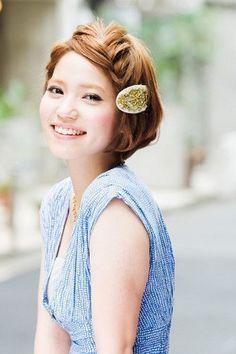 初心者さんが前髪編み込みに挑戦☆簡単ヘアアレンジ方法|MERY [メリー]