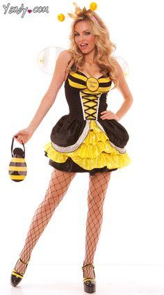 Adult Queen Bee Costume Hot Halloween Costumes, Halloween 2014, Adult  Costumes, Costumes For