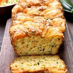 Cake aux légumes et au mont d'or