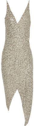 KAUFMANFRANCO Asymmetric embellished silk dress from The Outnet - Was £ 6,880 now £2,752 - Major splurge!