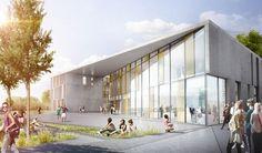 C.F. Møller Selected to Design Vocational School in Denmark,Courtesy of C.F. Møller Architects