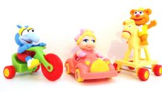 Muppet Babies McDonald's Happy Meal Toys - Vintage 1980s