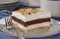 Cold Fudge Cake | MrFood.com