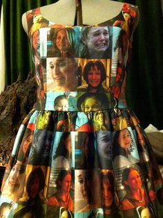 See? This a dress of images of Natalie Portman Crying. Why? what is this?