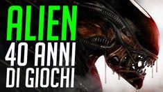 Alien: 40 Anni di videogiochi con lo Xenomorfo Comic Books, Games, Xenomorph, Gaming, Cartoons, Comics, Comic Book, Plays, Game