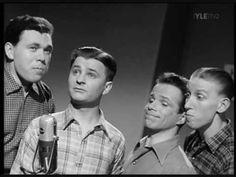 Kimarakvartetti - Säkkijärven Polkka 1953 Folk Music, Youtube, Folk
