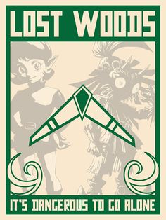 Lost Woods poster. 3 of 4. by agent jacqueline