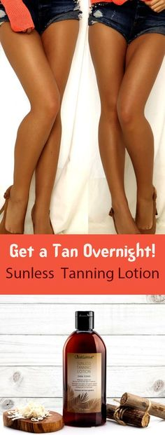 JNU / Sunless Tanning Lotion - Dark Tones / I was really excited to try this product due to the natural ingredients and other great reviews. The smell is also so refreshing. I've only had it for a few days but the first application was very satisfying and I cannot wait to continue working on my tan.