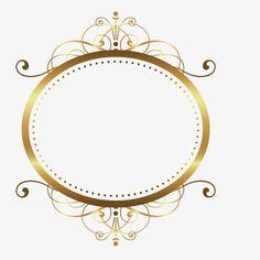 Vector pattern gold rim gold frame PNG and Vector Logos Vintage, Molduras Vintage, Diamond Theme, Wedding Logo Design, Art Therapy Activities, Instagram Frame, Borders And Frames, Frame Clipart, Flower Backgrounds