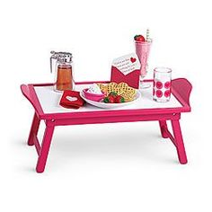American Girl® Accessories: Breakfast in Bed Set for Dolls ~ $28 American Girl