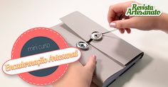 Em apenas 4 aulas grátis curtinhas você vai descobrir como fazer um caderno de anotações incrível, com capa em couro revestido com tecido! Aprenda agora  😉