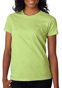 Gildan Ladies Ultra Cotton 100 Cotton TShirt Pistachio XL * Learn more by visiting the image link.(This is an Amazon affiliate link and I receive a commission for the sales)