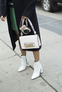 3 Looks That Prove You Need White Boots This Spring | Bloglovin' Fashion | Bloglovin'