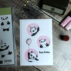 "Gefällt 260 Mal, 16 Kommentare - Michelle Last Papercrafter (@michelleclast) auf Instagram: ""Party Pandas free from Stampin'Up during saleabration, link to my shop to order online is in my…"""