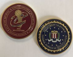 DOJ FBI Federal Bureau of Investigation Cleveland Div Cavaliers 2016 NBA Champs