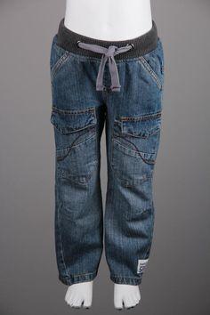 Denim Pants with Pockets