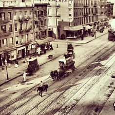The Meatpacking District - 100 years ago. #throwbackthursday