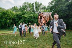 For Fun wedding photo!
