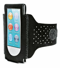 Move freely during your training sessions with this iPod Nano sports armband and dance to the rhythm of music!