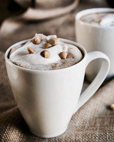 Fıstık Ezmeli Sıcak Çikolata