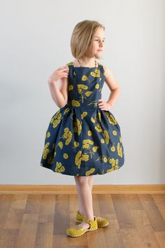 The Spelen Dress PDF Sewing Pattern – The Eli Monster