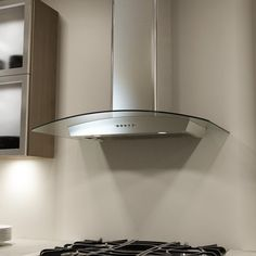 View the Miseno MH00336G 750 CFM 36 Inch Stainless Steel Wall Mounted Range Hood with Dual Halogen Lighting System and Glass Accent at Build.com.