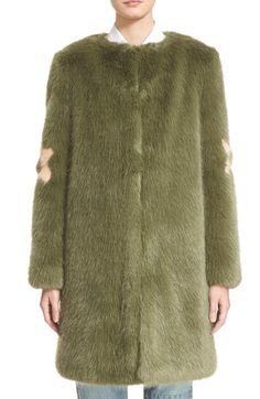 Shrimps 'Kylie' Faux Fur Coat