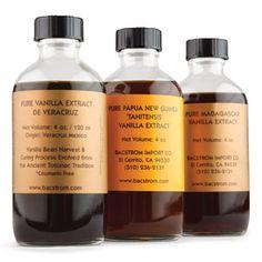 Pure Vanilla Extracts Trio