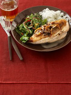 Maple Lager Chicken Ridge #FNMag #myplate #protein