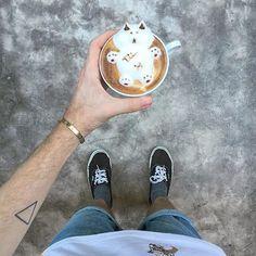 ☕️ Cutest coffee ever!