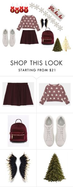 """""""All about maroon"""" by nadyanataliaa on Polyvore featuring Pull&Bear, Fendi, GE and Edie Parker"""
