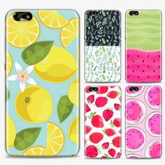 Fresh fruit painting silicone case cover For Huawei Honor 6 / Honor 6 – Goolcase