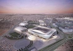 Construction moves forward on Ramboll and Pattern's Qatar 2022 World Cup venue