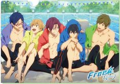 I spy all the ships clashing .. o.o (Rei and Nagisa) (Haru and Rin) (Haru and Makoto) What is this!?!