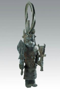 Kimball Art Museum.Nigerian Oba - controller of the well being of the kingdom.  18th century
