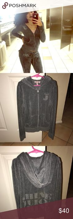 Juicy Couture Velour Jacket Cute shine juicy shine jacket only. No flaws. In great condition Size xs  ITEM NO. 118 Juicy Couture Jackets & Coats