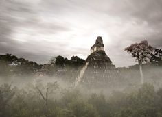 Tikal, Guatemala  Deep within the jungles of Guatemala lie the massive Mayan ruins of Tikal. A place that has been on my list to photograph for quite some time and has now made it as a UNESCO World Heritage site. The most fascinating part about wandering around this site was pondering upon how this metropolis of up to 90 thousand people in it's hay day can just disappear and be swallowed up by the jungle to be forgotten for centuries.  Photography by Craig Denis