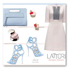 """lattori- 2"" by angelstar92 ❤ liked on Polyvore featuring Lattori, Shiseido, Kate Spade, Giuseppe Zanotti and lattori"