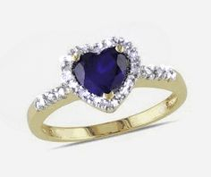 Straight From The Heart, 10 Picture, Heart Shapes, Heart Ring, Jewelry Watches, Sapphire, Diamonds, Engagement Rings, Gold