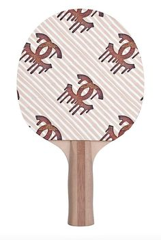 "Serve a killer game with a Crystahhled ping pong paddle! Printed on a layer of .12"" EVA closed cell padding to provide a forgiving hitting surface for accuracy. - Dimensions: 6"" x 6.25"" strike pad. -"