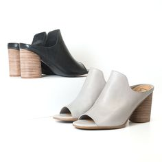 3823622a695 Fans are fawning over the Hallie!! With a rounded block heel and flattering  leather